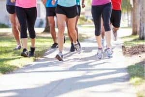 women running staying motivated