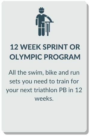 triathlon training program 12 weeks