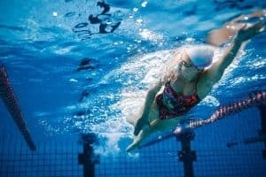 triathlon training program swim